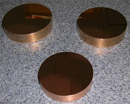 Before Polishing Beryllium Copper
