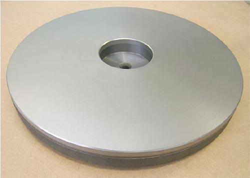 lapping plate for heavy components