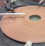 lapping and polishing plate