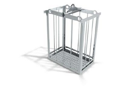 basket for mould and die cleaning