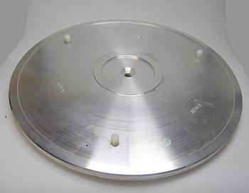 lift off disc drive plate
