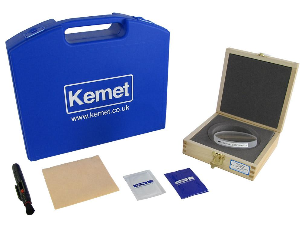 Kemet Optical Flat Cleaning and Care Kit