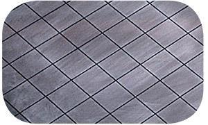 square grooved lapping plates