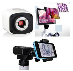 cameras and imaging microscopes