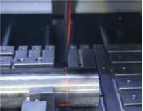 Laser allignment unit