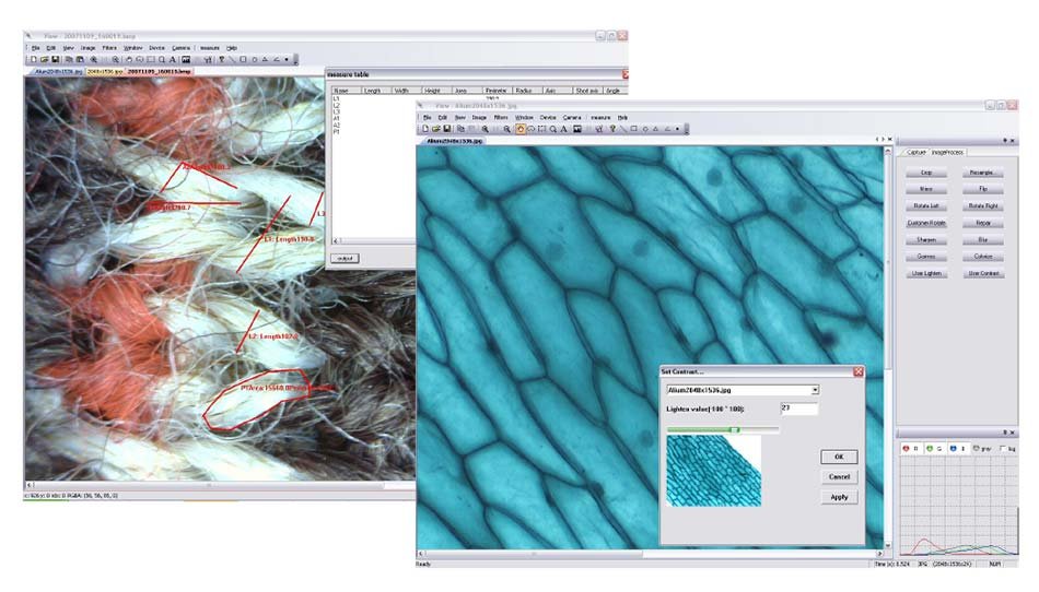 imaging software for microscopes