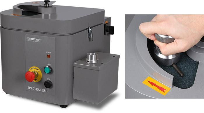 spectral 250 surface grinder